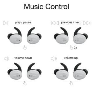 functie-uitleg-bedieningspaneel-Thone-draadloze-oordop-muziekspeler
