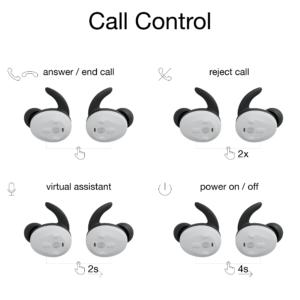 functie-uitleg-bedieningspaneel-Thone-draadloze-oordop-telefoneren